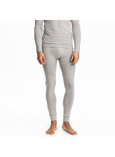 Goldenbay Erkek Normal Bel Uzun Alt Termal Sıcak Tutan İçlik Gri